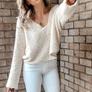 Free people popcorn pullover